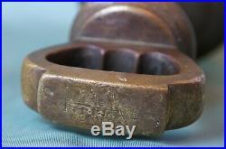 14lb Brass Bell Weight. Victorian