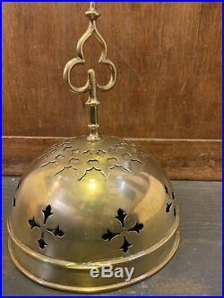 1850s Victorian Brass Bell. Communion/ Sanctuary/ Altar Bells. English