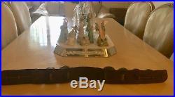 1880s 10 Christmas Sleigh Bells Brass Orig. Swedish Rump Strap Horse