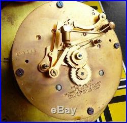 1920's Chelsea Ship's Bell Clock 6 Dial