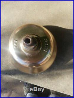 1950s Antique USA EMD Desiel Locamotive Railroad Brass Bell