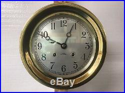 1957 Chelsea 6 Ships Bell Clock