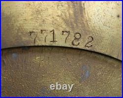 1970-74 Chelsea Ships Bell Clock 6 Dial RUNNING KEY INSTRUCTIONS