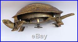19th Century Novelty Tortoise Desk Bell
