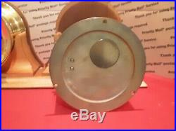 2 Chelsea ships bell clocks. One from Marshall field and Co. 1978 and 1980