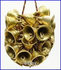 30 BRASS BELLS Lot Bell Vintage Indian Camel Horse Sheep Sleigh Mix Bulk Antique