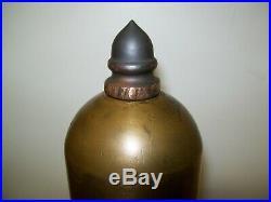 3 Antique Lunkenheimer Brass Plain Bell Steam Whistle for Traction Engine, etc
