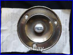 3 Victorian Brass & Ceramic Electric Door Bell Push (Reclaimed, antique)