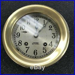 4 1/2 Chelsea Ships Bell Clock