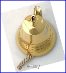 6 Brass Ship Bell Nautical Bells 6