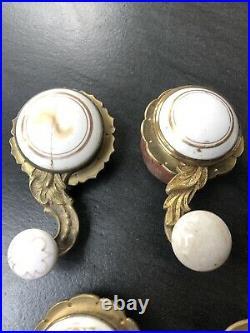 6 Victorian Mechanical Servants Butlers Staff Call bell lever