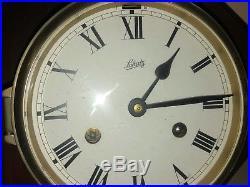 8 days Schatz Ships bell Clock marine, working clock