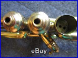 ANTIQUE Brass Martin Handcraft Standard Trumpet 11154 /BACH 17C1 MP/longer Bell