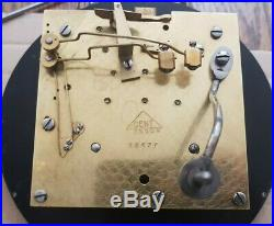A quality ships bulkhead clock by Dent Bell strike ships sequence + Dog watch