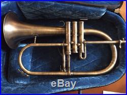 Adams F1 Flugelhorn In Antique Finish / Yellow Brass Bell / Beautiful Condition