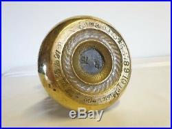 Antique 14lb Brass Bell Weight VR Scales/Door Stop