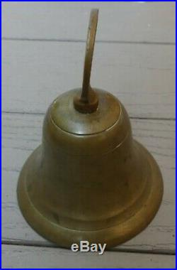Antique 1901 Pan-American Exposition Buffalo Remember the Maine brass bell