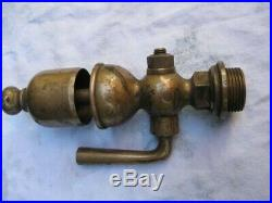 Antique Brass Bell Type Steam Whistle. Locomotive/steam Wagon/traction Engine