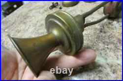 Antique Brass L. M. Ericsson Microphone Transmitter, Arm, Bell Telephone Parts
