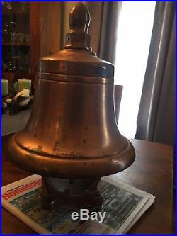 Antique Brass Ships Bell