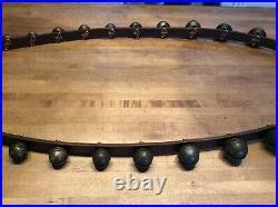 Antique Brass Sleigh Bells -25 Bells