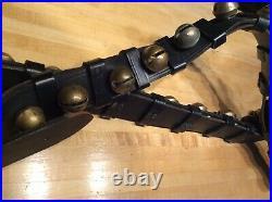Antique Brass Sleigh Bells -27 Bells