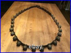 Antique Brass Sleigh Bells -30 Bells