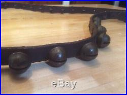 Antique Brass Sleigh Bells -31 Bells