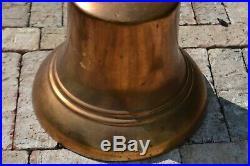 Antique Brass Train Locomotive Bell