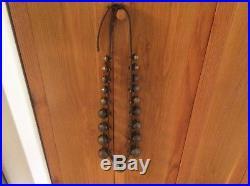 Antique Brass sleigh bells 19 Bells