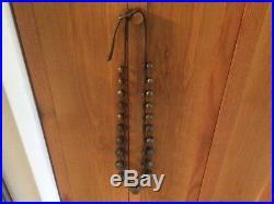 Antique Brass sleigh bells 21 Bells