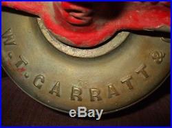 Antique Bronze / Brass Fire House Bell 78 Lbs San Francisco Made 1898 Date
