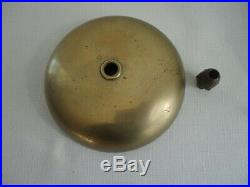 Antique Cast Iron & Brass Fire Alarm Bell in Working Condition Gamewell