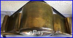 Antique Chelsea Tambour #3 Ships Bell Clock All Original Brass/Bronze Ca. 1921