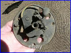Antique Corbins Door Bell Brass with Outside Ringer Handle Pat 1865 1869