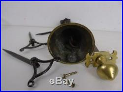 Antique Cottage Door Bell and Pull Architectural Reclaimed