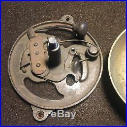 Antique Eastlake Reading Windsor Brass Door Bell Restored Patented Date 1879