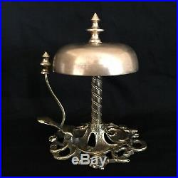 Antique Hotel / General Store Brass Tap Call Bell. Circa 1900