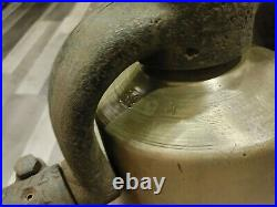 Antique Large Brass Locomotive Railroad Train Bell Canadian National 4-6-2 5294