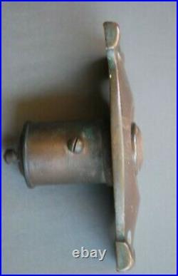 Antique Original Art Nouveau Brass / Bronze Door Bell / Door Push