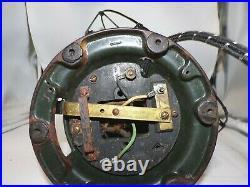 Antique Original GE General Electric Bell oscillator Fan Cast Iron & Brass