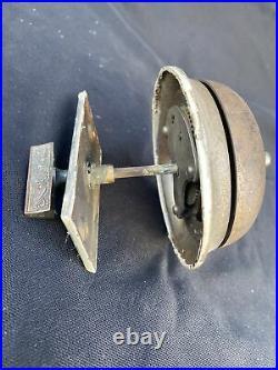 Antique Sargent & Co Twist Action Doorbell Door Bell