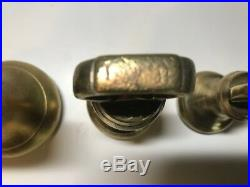 Antique Set of Brass Bell Weights from 7lb to 1/4 oz