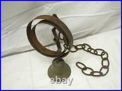 Antique Store Door Spring Bell Brass Bronze Hardware General Servants