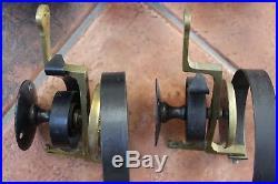 Antique Victorian Set Of 5 Brass Reclaimed Servant Call Bells Maid Butler Door