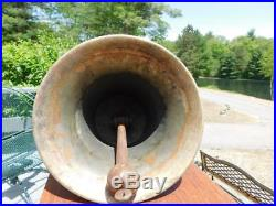 Antique Vintage 12 Bell Bronze Brass Fire Truck Ship Boat Train Railroad Garden