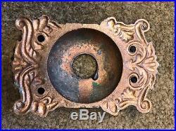 Antique Vintage Brass Dragon Door Bell Cover Doorbell