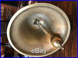 Antique Vintage Brass Ships Bell