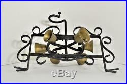 Antique Vintage Wrought Iron Revolving Multi-Chimes Brass Door Bells (#2)