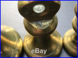 Antique brass scale Bell weights 14 Lbs